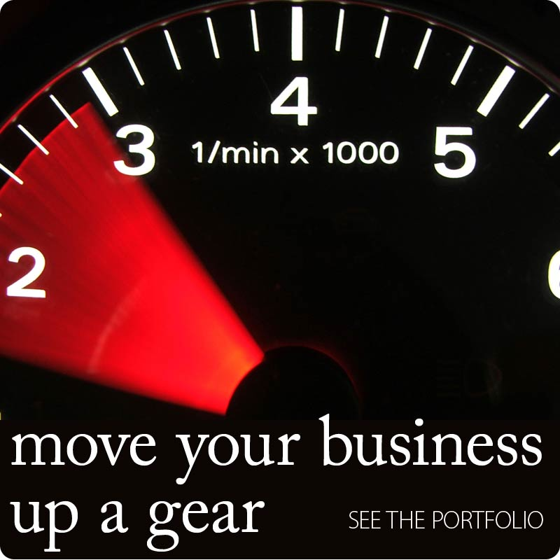 Move your business up a gear